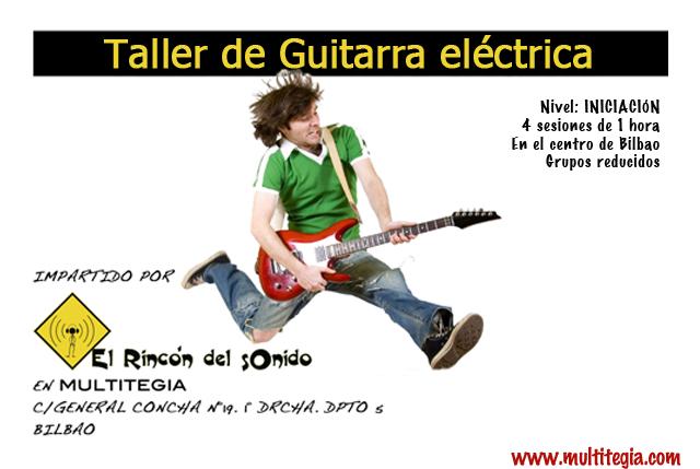 Taller de iniciación a la guitarra eléctrica